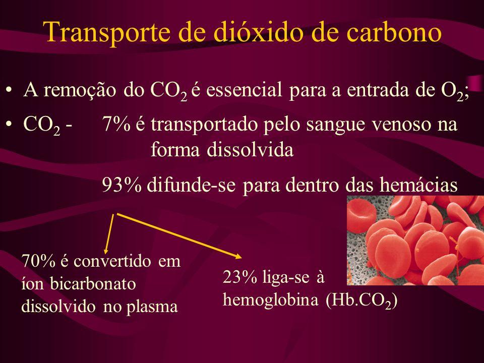 Transporte de dióxido de carbono