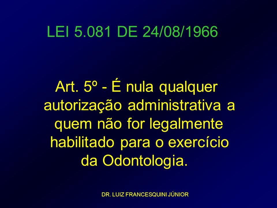 autorização administrativa a quem não for legalmente