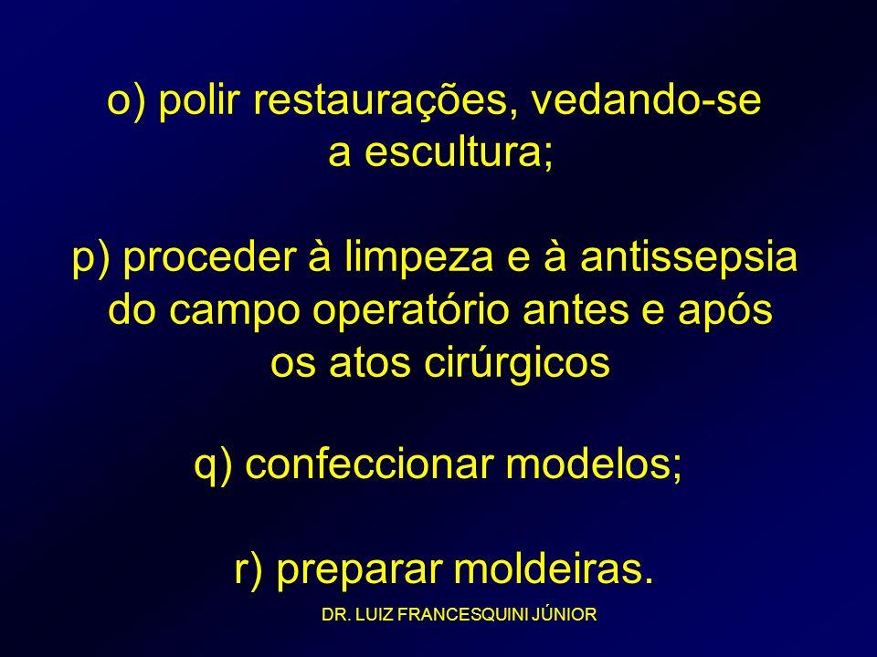 q) confeccionar modelos;