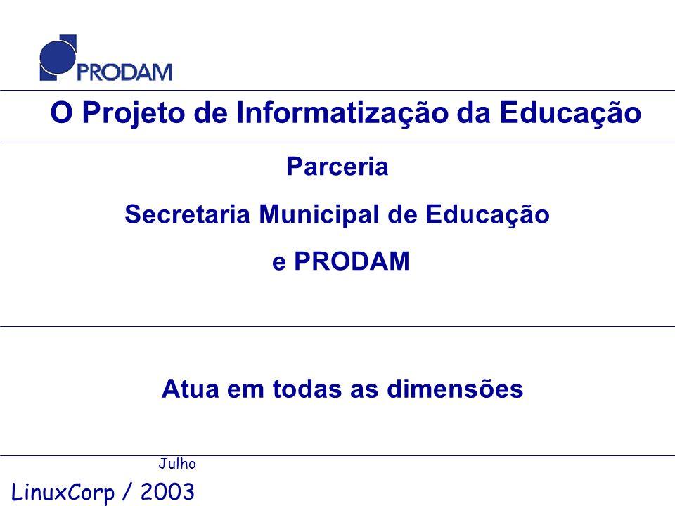 O Projeto de Informatização da Educação