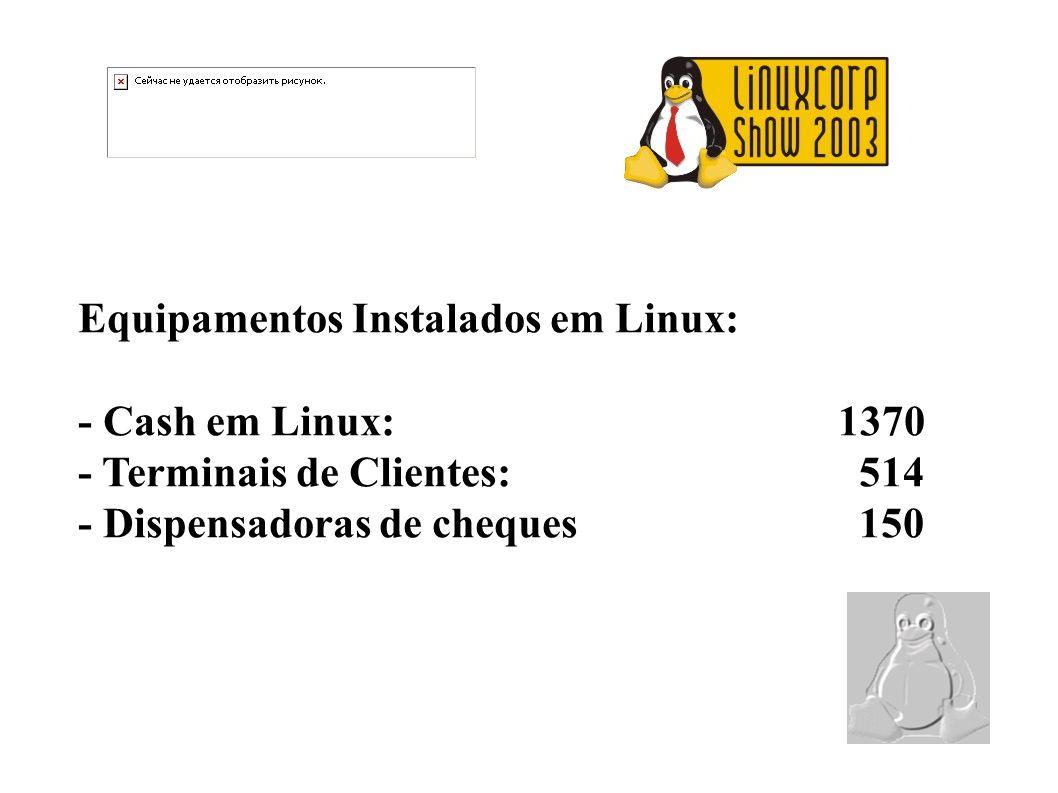 Equipamentos Instalados em Linux: