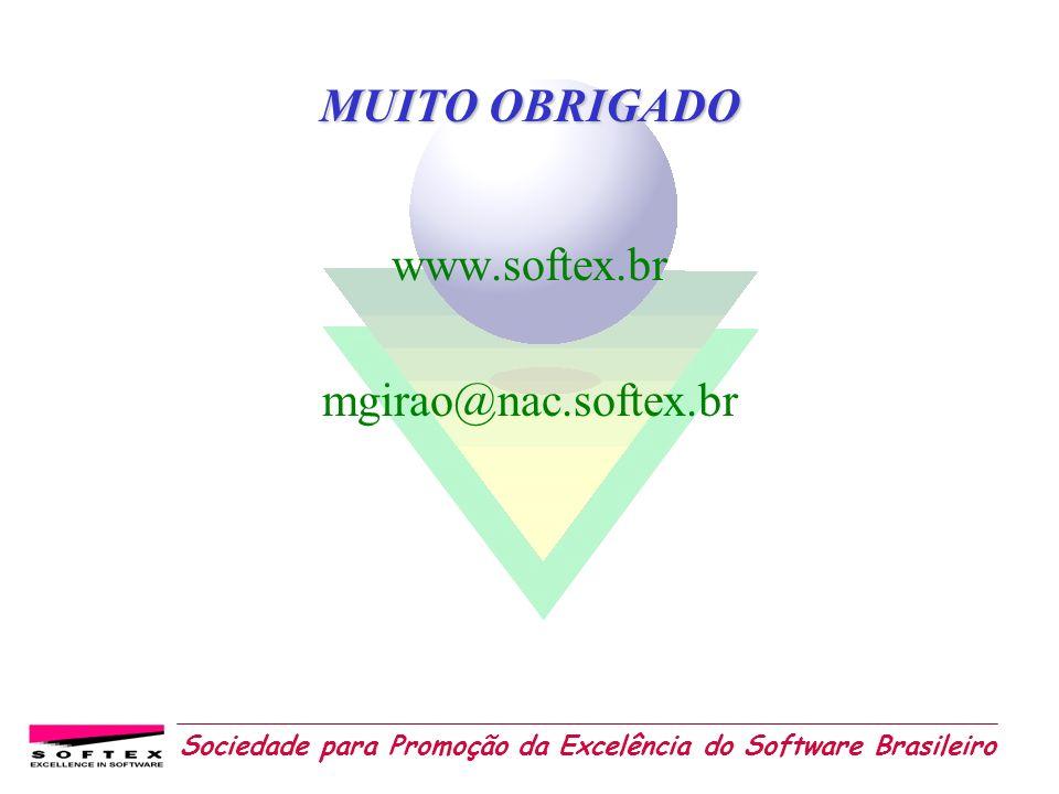 MUITO OBRIGADO www.softex.br mgirao@nac.softex.br