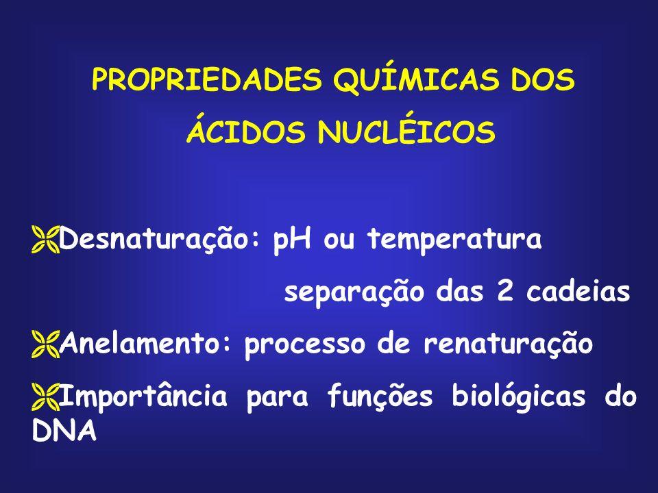 PROPRIEDADES QUÍMICAS DOS