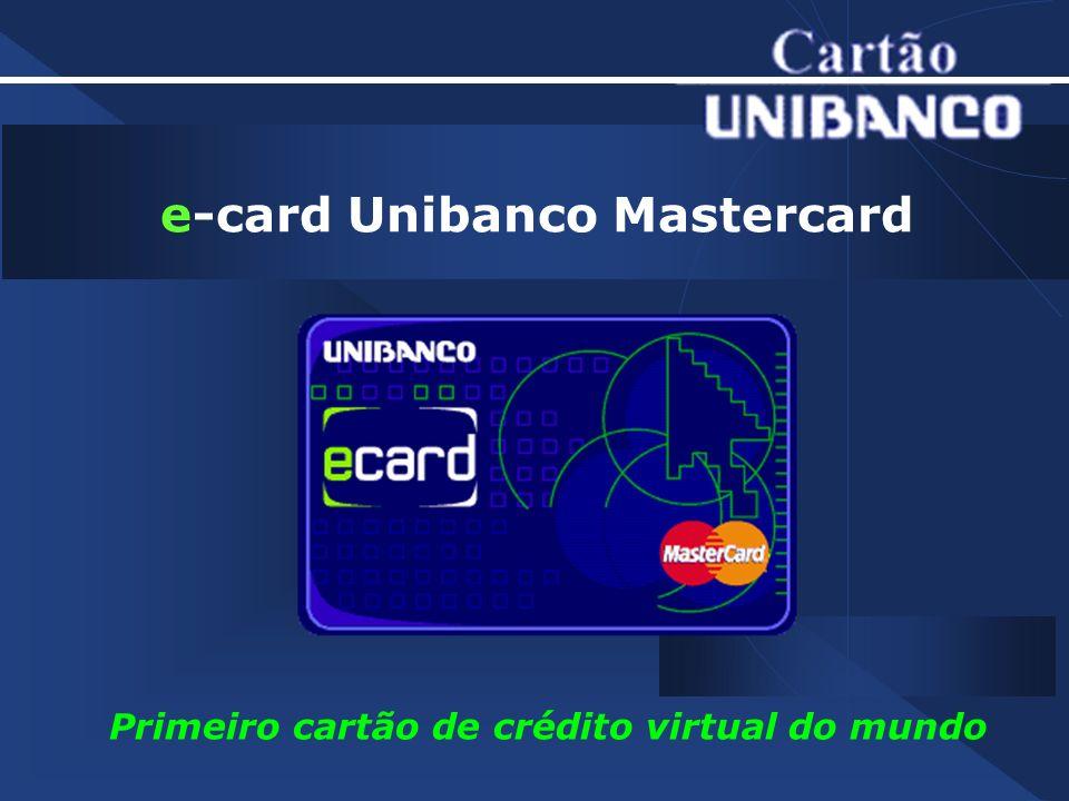 e-card Unibanco Mastercard