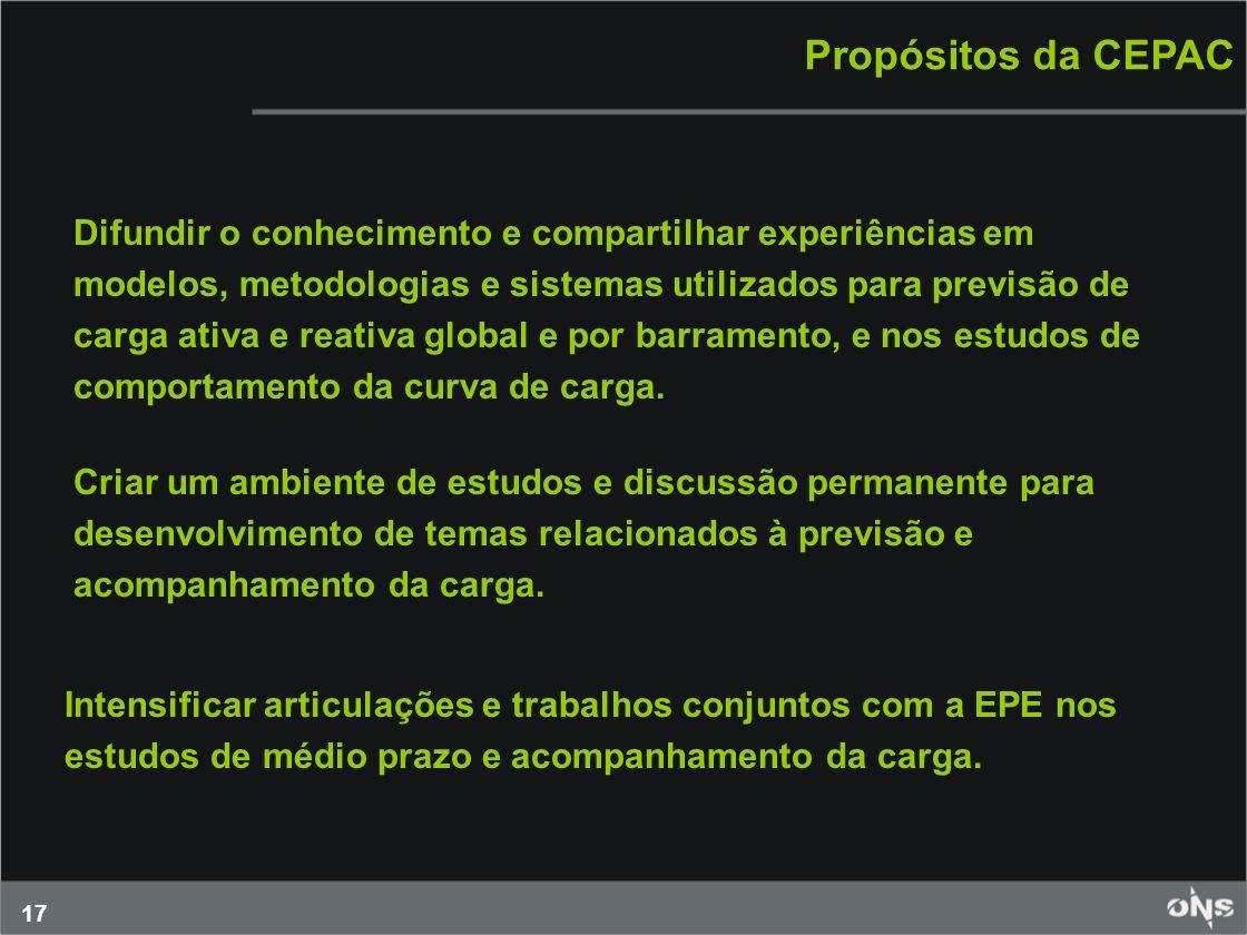 Propósitos da CEPAC