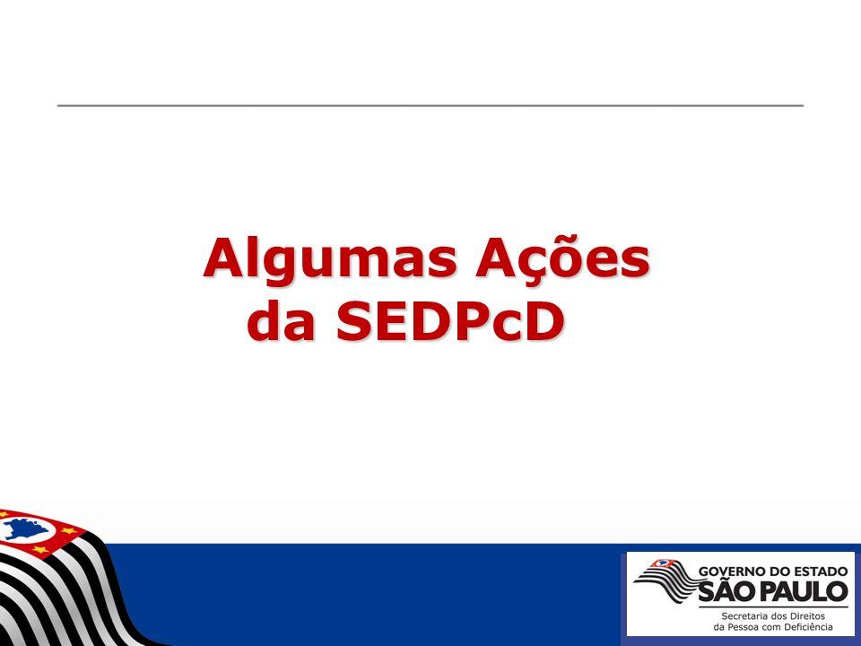 Algumas Ações da SEDPcD