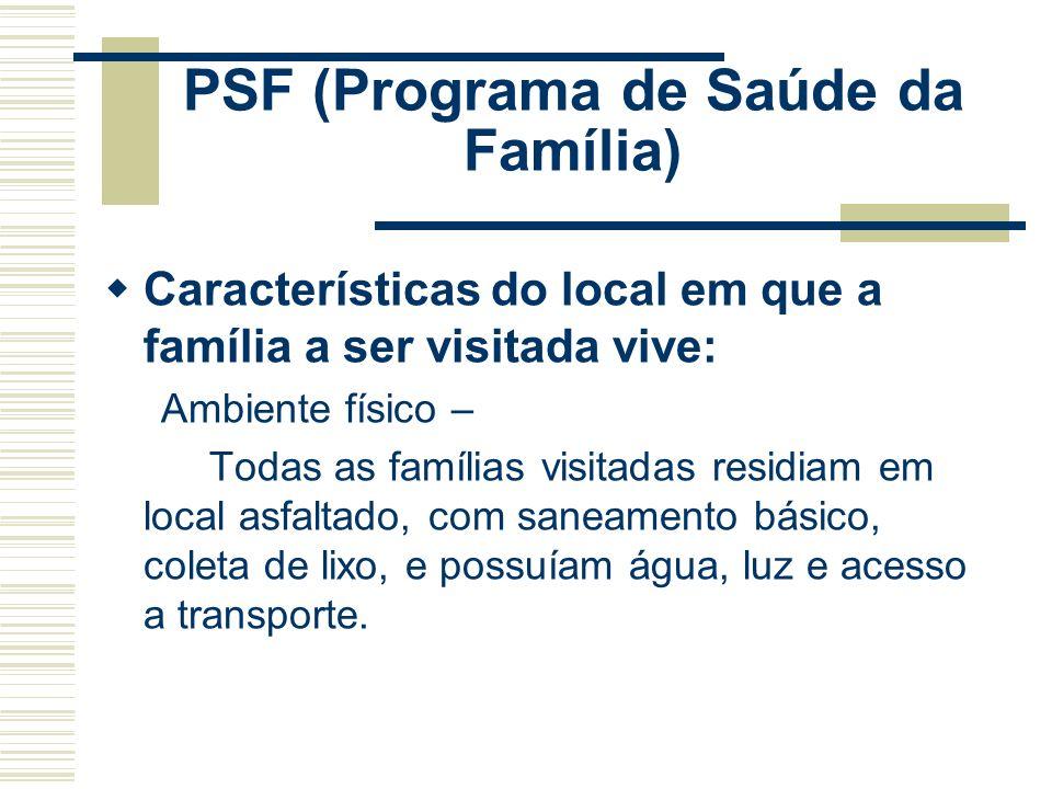PSF (Programa de Saúde da Família)