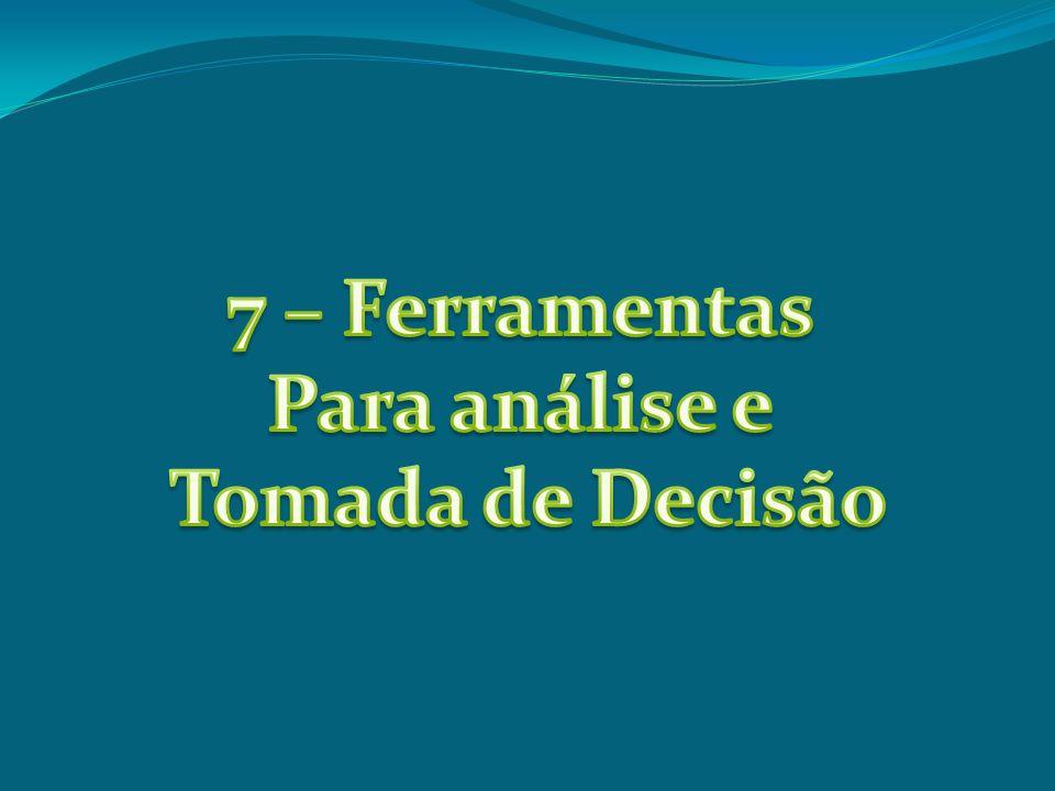 7 – Ferramentas Para análise e Tomada de Decisão