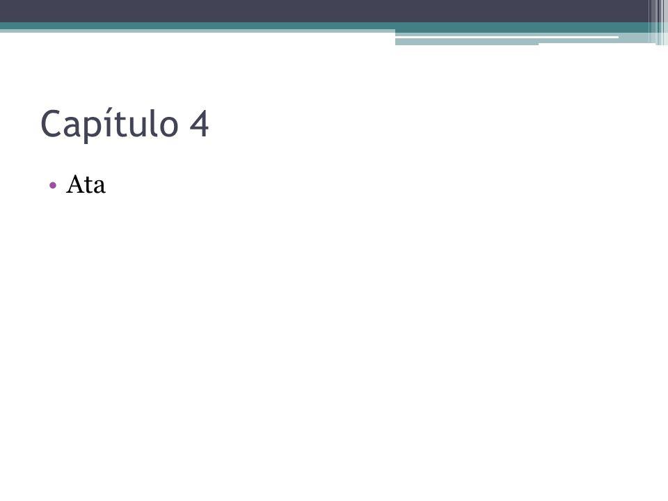 Capítulo 4 Ata