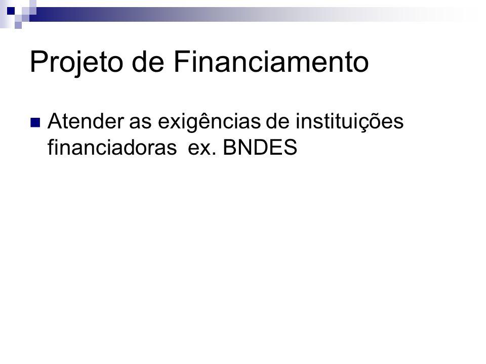 Projeto de Financiamento