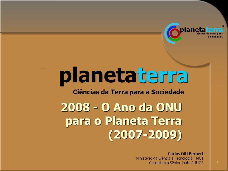 planetaterra 2008 - O Ano da ONU para o Planeta Terra (2007-2009)