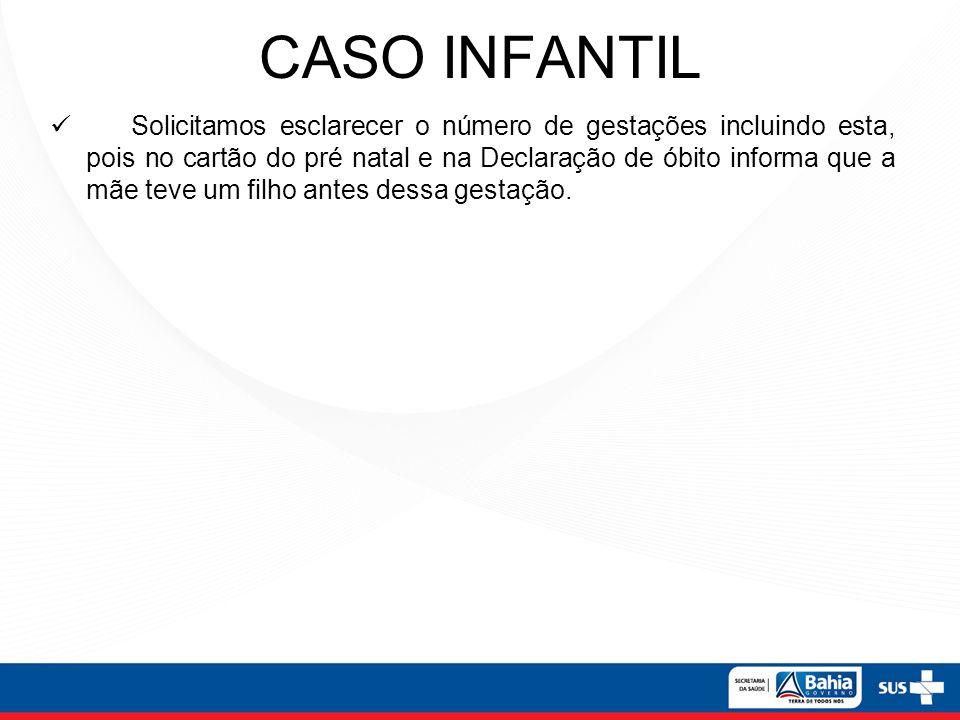 CASO INFANTIL