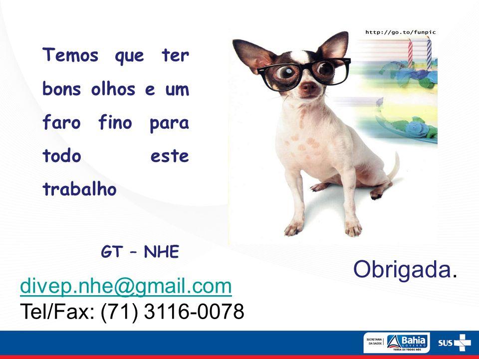 Obrigada. divep.nhe@gmail.com Tel/Fax: (71) 3116-0078