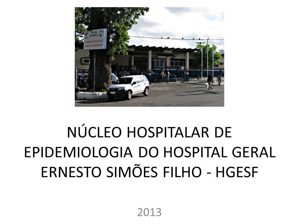 NÚCLEO HOSPITALAR DE EPIDEMIOLOGIA DO HOSPITAL GERAL ERNESTO SIMÕES FILHO - HGESF