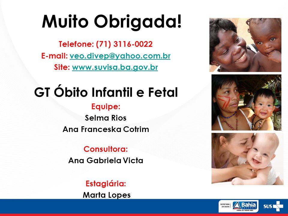 GT Óbito Infantil e Fetal