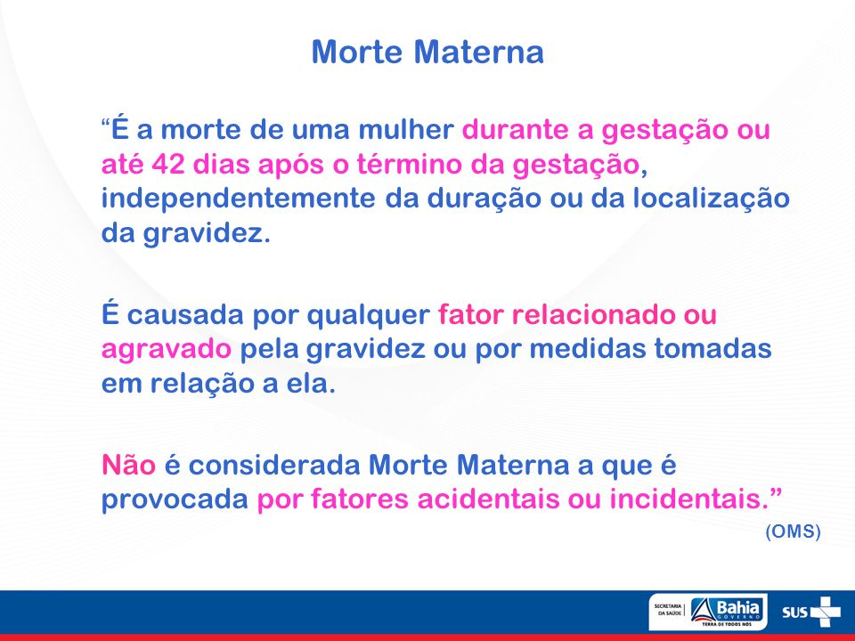 Morte Materna