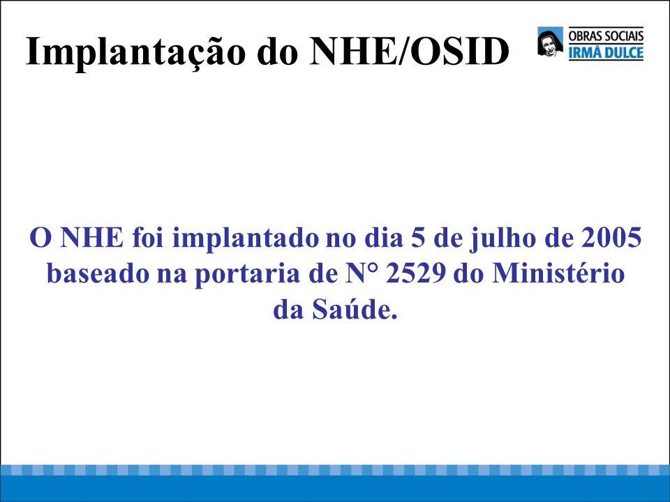 Implantação do NHE/OSID