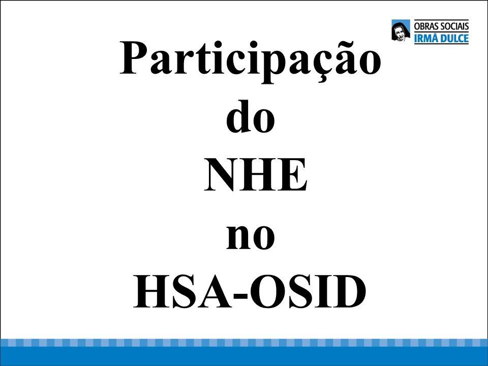 Participação do NHE no HSA-OSID
