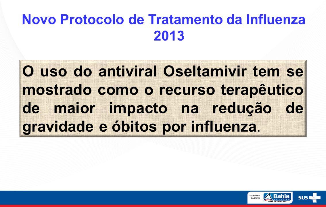 Novo Protocolo de Tratamento da Influenza