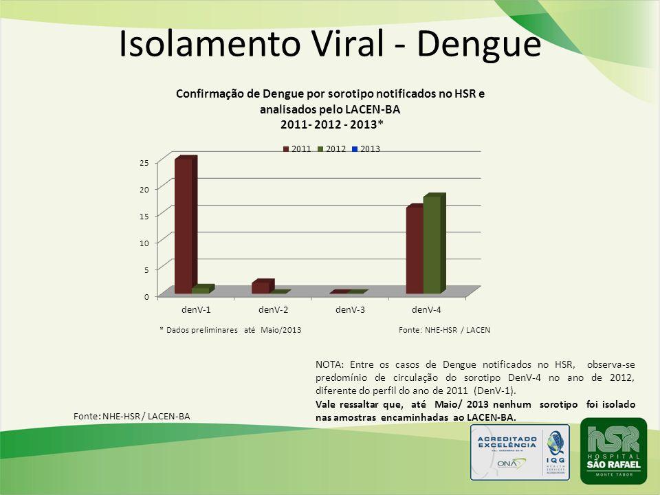 Isolamento Viral - Dengue
