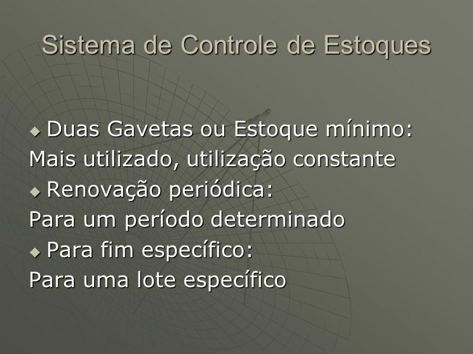 Sistema de Controle de Estoques