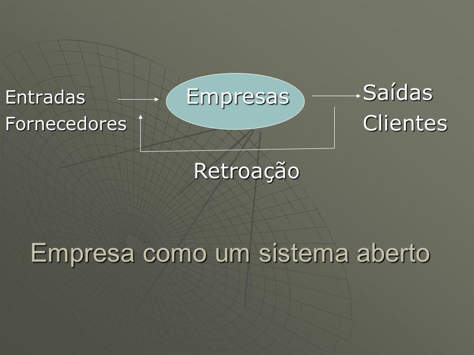 Empresa como um sistema aberto