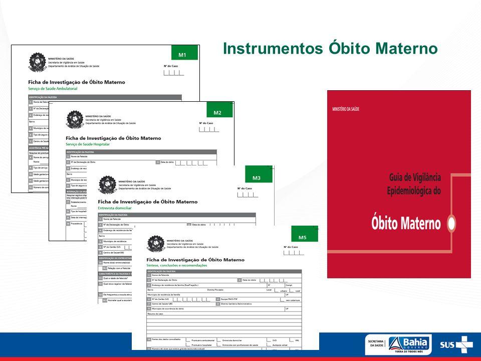 Instrumentos Óbito Materno