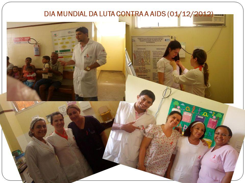 DIA MUNDIAL DA LUTA CONTRA A AIDS (01/12/2012)