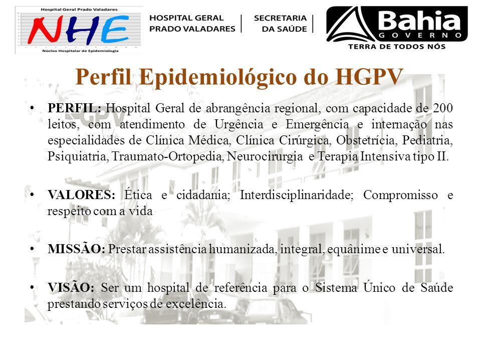 Perfil Epidemiológico do HGPV