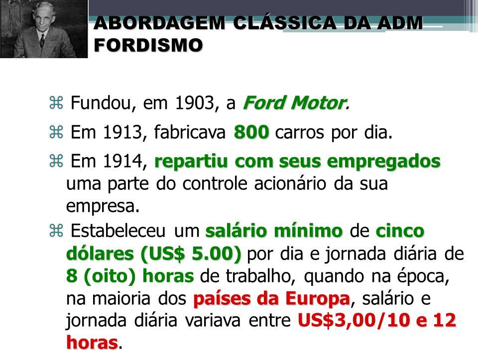  Em 1913, fabricava 800 carros por dia.
