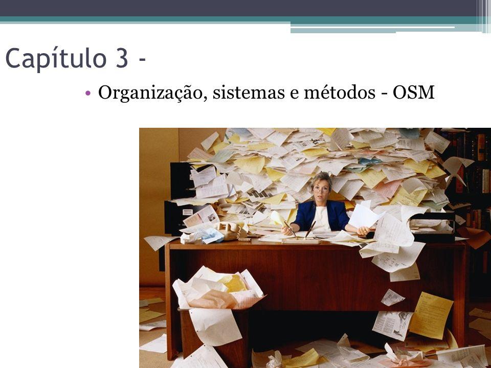 Capítulo 3 - Organização, sistemas e métodos - OSM