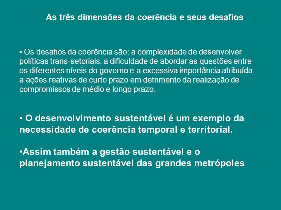 As três dimensões da coerência e seus desafios