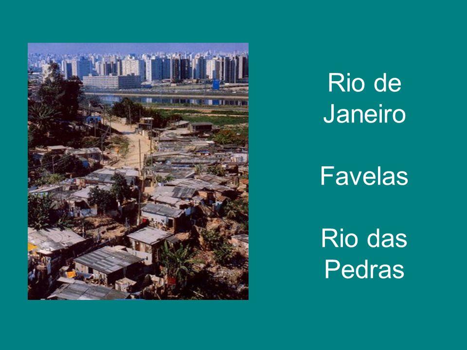 Rio de Janeiro Favelas Rio das Pedras