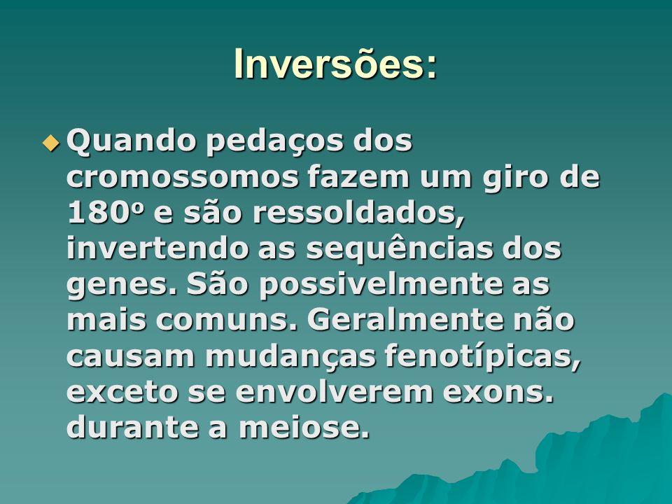 Inversões:
