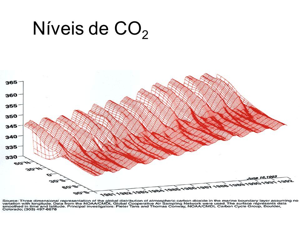 Níveis de CO2