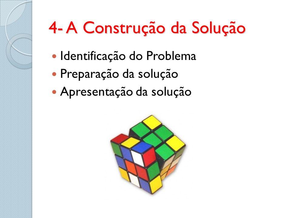 4- A Construção da Solução