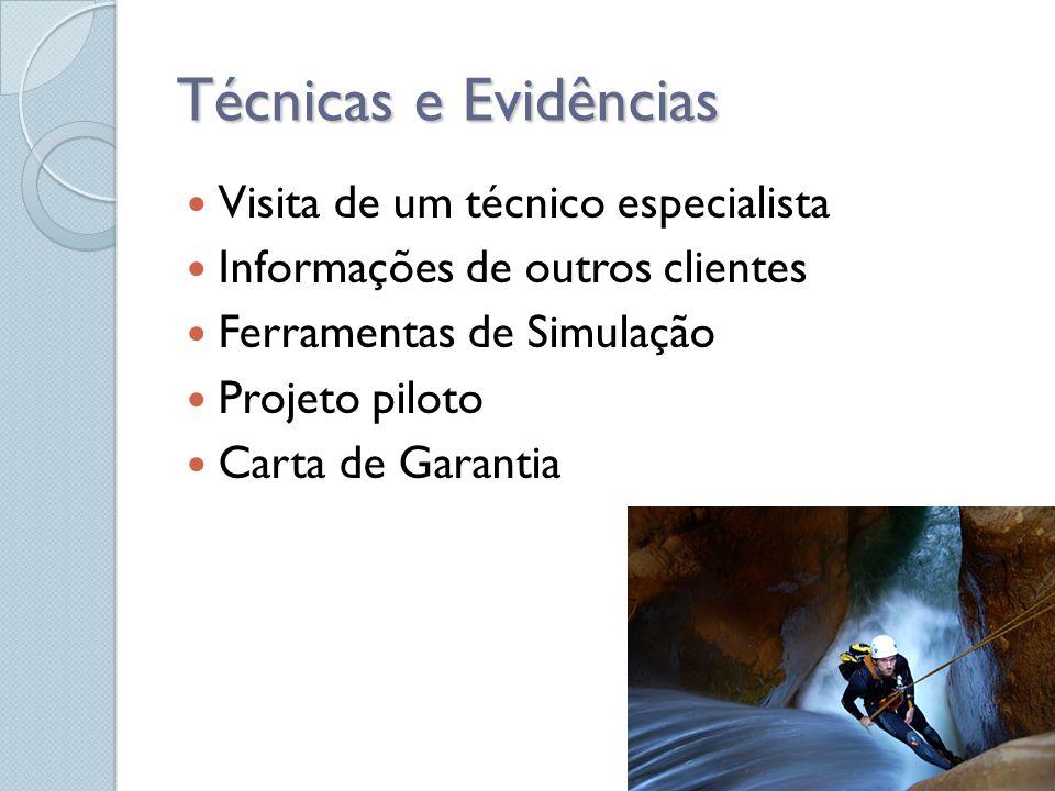 Técnicas e Evidências Visita de um técnico especialista
