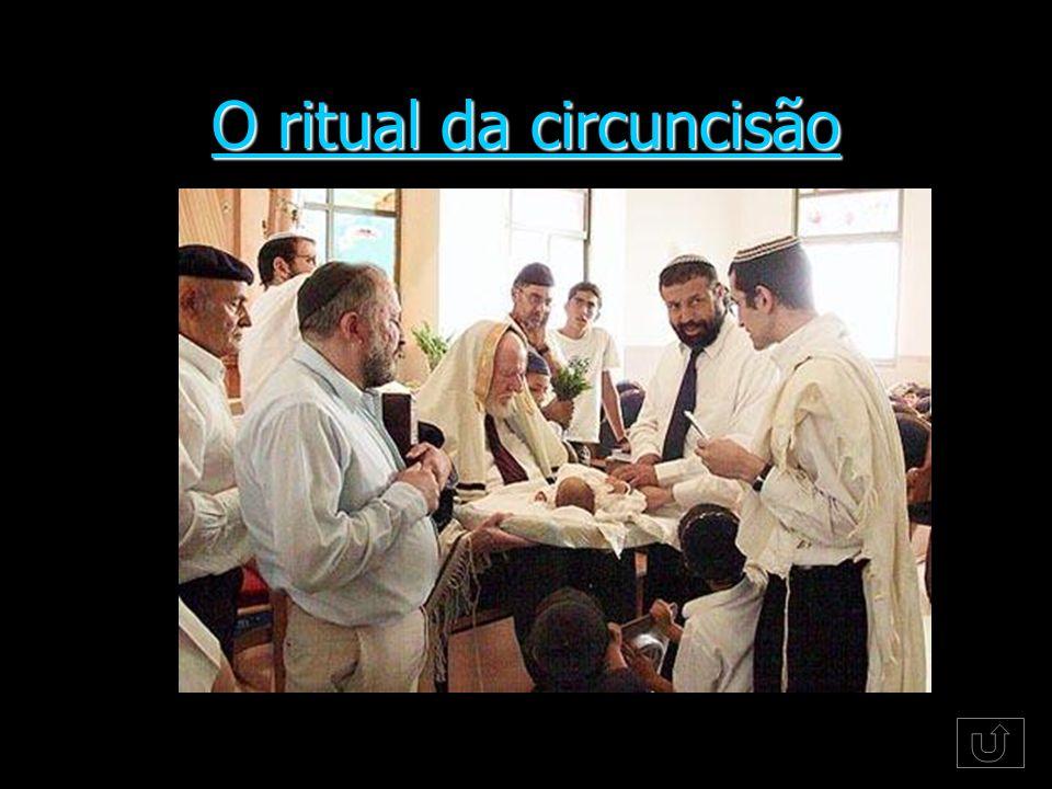 O ritual da circuncisão