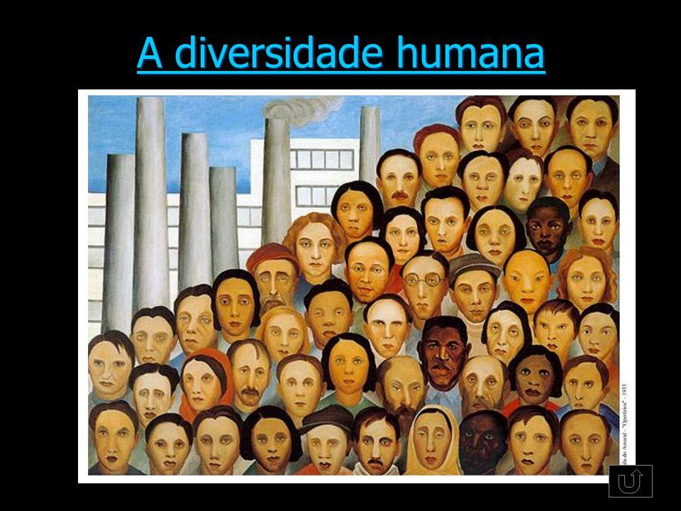 A diversidade humana