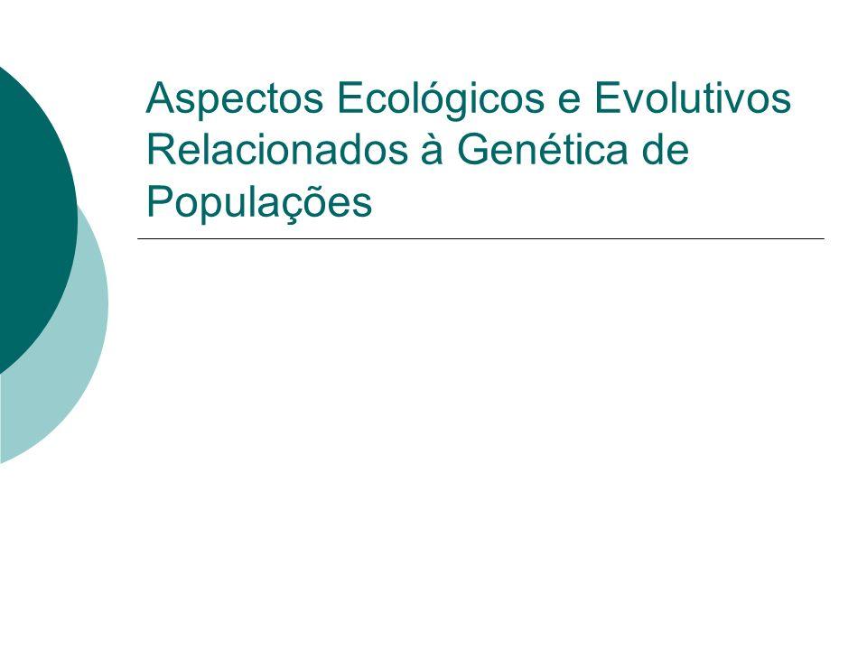 Aspectos Ecológicos e Evolutivos Relacionados à Genética de Populações