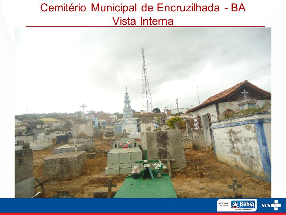 Cemitério Municipal de Encruzilhada - BA Vista Interna