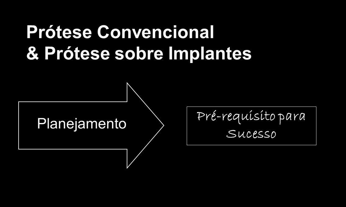 Prótese Convencional & Prótese sobre Implantes