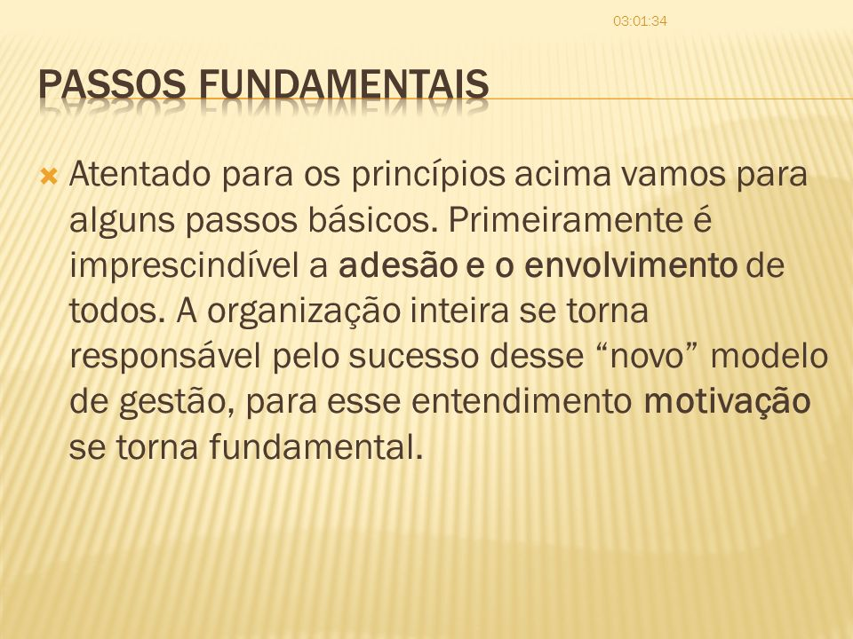 06:03:20 Passos fundamentais.
