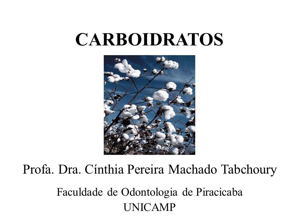 CARBOIDRATOS Profa. Dra. Cínthia Pereira Machado Tabchoury