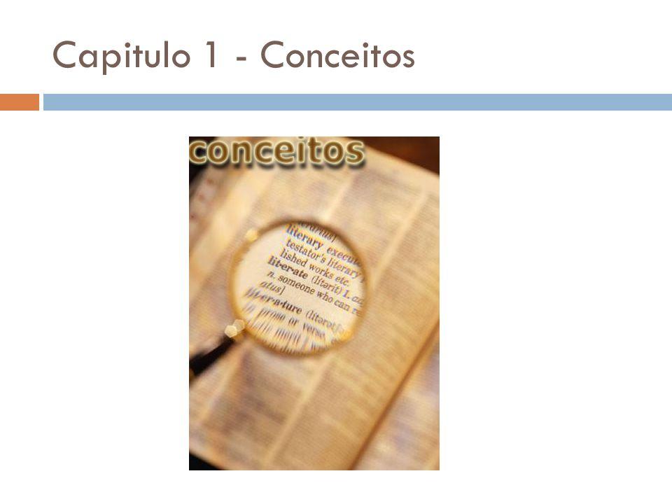 Capitulo 1 - Conceitos