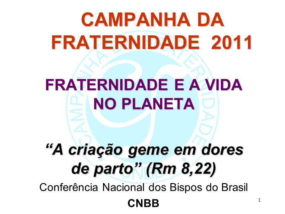 CAMPANHA DA FRATERNIDADE 2011