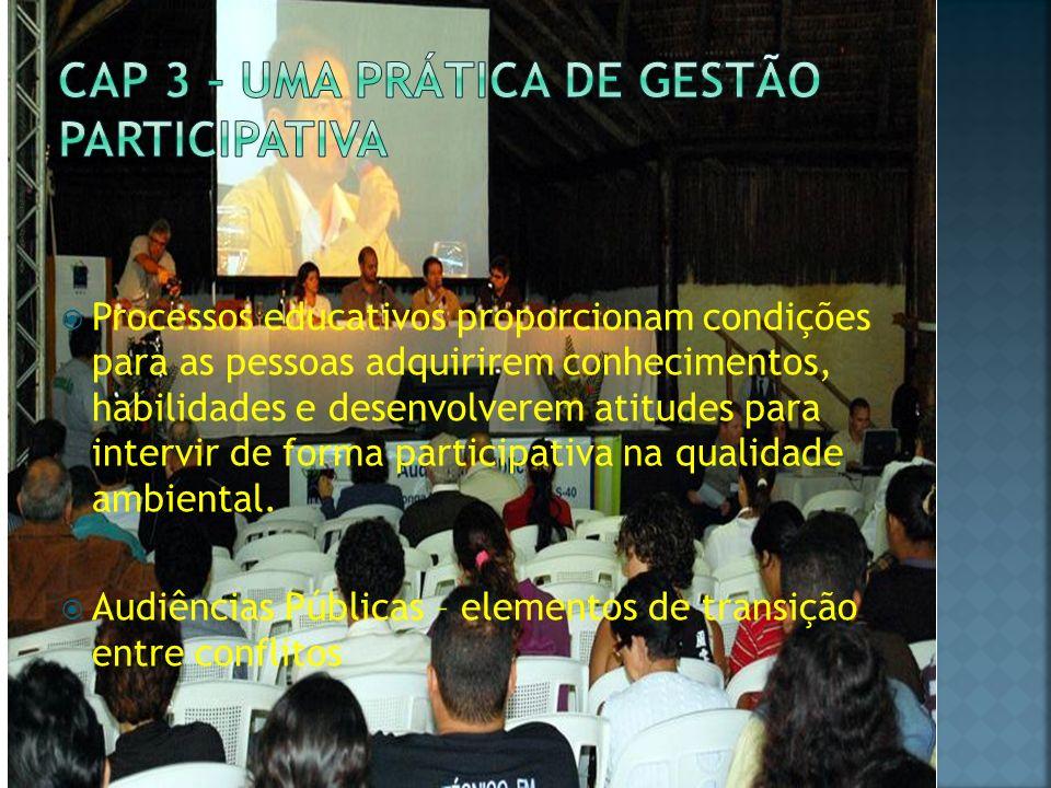 Cap 3 – Uma prática de gestão participativa