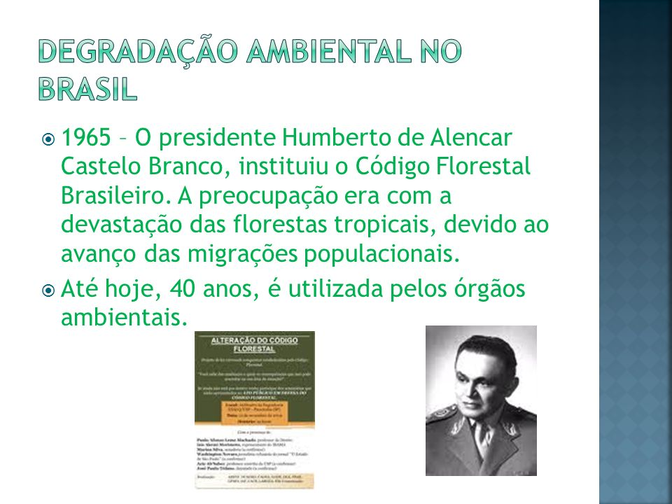 Degradação ambiental no Brasil