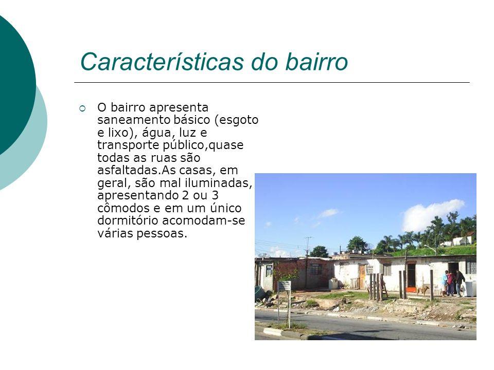 Características do bairro