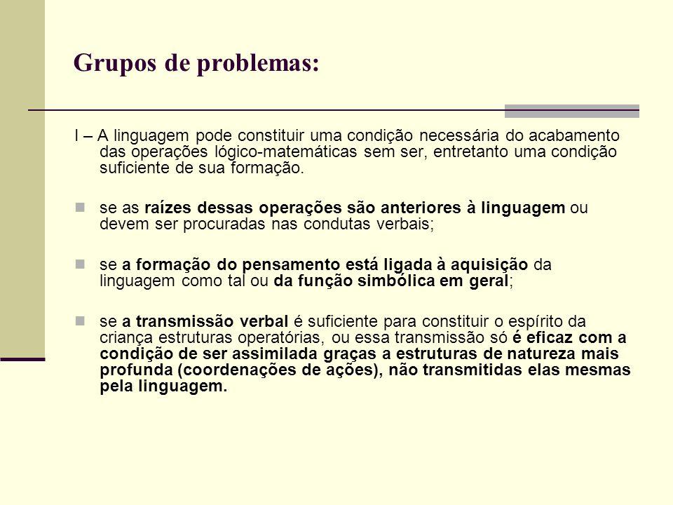 Grupos de problemas: